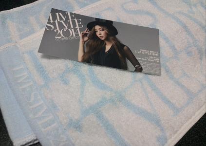 namie amuro LIVE STYLE 2014グッズ