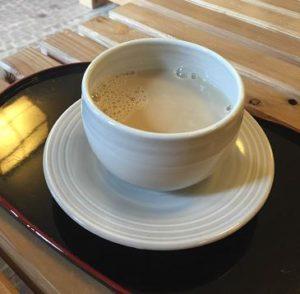 珈琲豆乳HOT