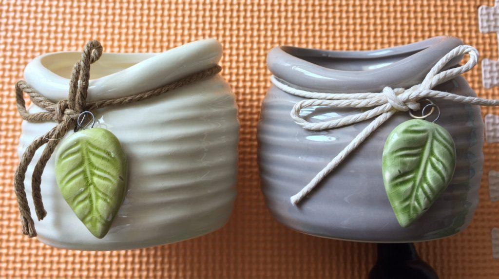 麻柄植木鉢